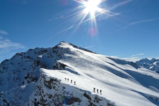 Ski de randonnée a Molines St Véran