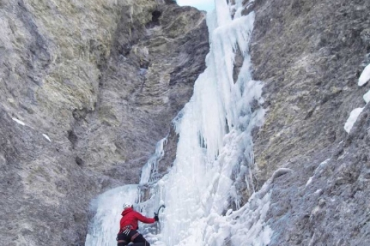 cascade de glace a Ceillac