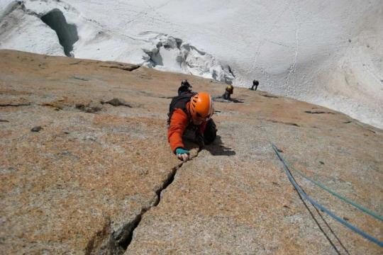 Chamonix granite