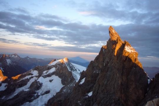 """La Meije Est summit """"le doigt de dieu"""""""