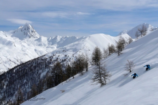 Abries Off piste
