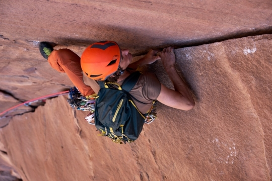 Les belles fissures du Wadi Rum