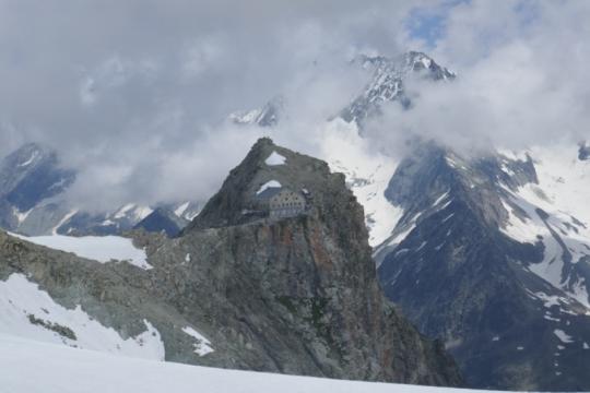 Refuge des Vignettes 3152m
