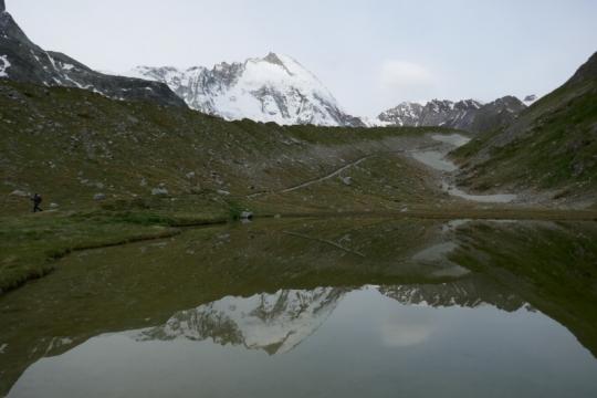 Arrivé sur zermatt, le Cervin nous salut