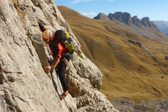 escalade Queyras