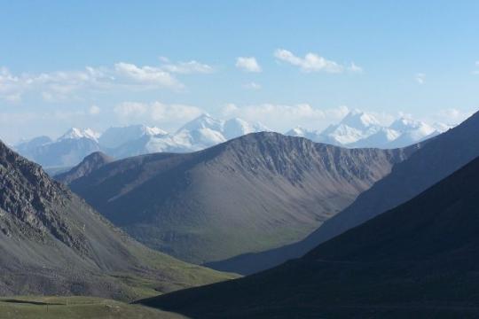 en entrant au kirghiztan depuis le tadjikistan