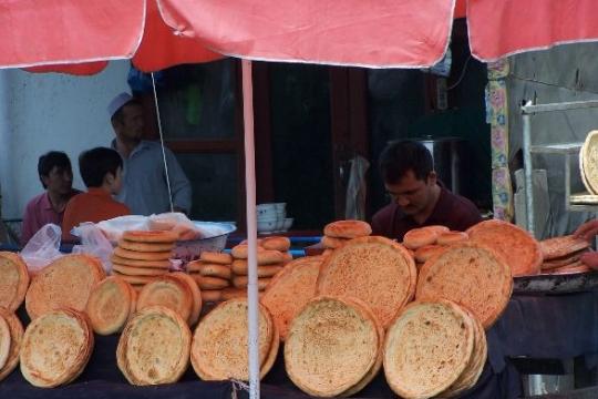 marché de kashgar