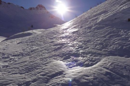 neige variable