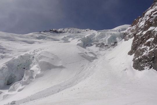 content d'être en ski!