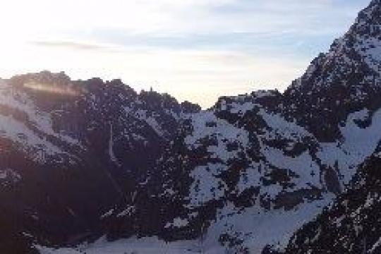 le couloir des avalanches