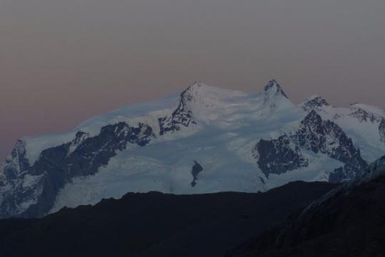 Mont rose depuis Schonbiel
